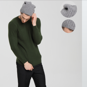Wholesale Unisex Rib Knit Pure Cashmere Beanie From China