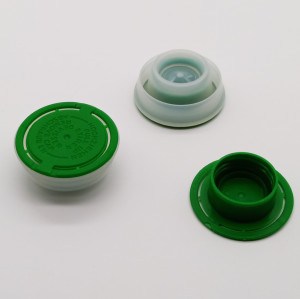 42mm flexible spout cap/plastic top cap for 4l engine oil tin can,plastic tin can covers
