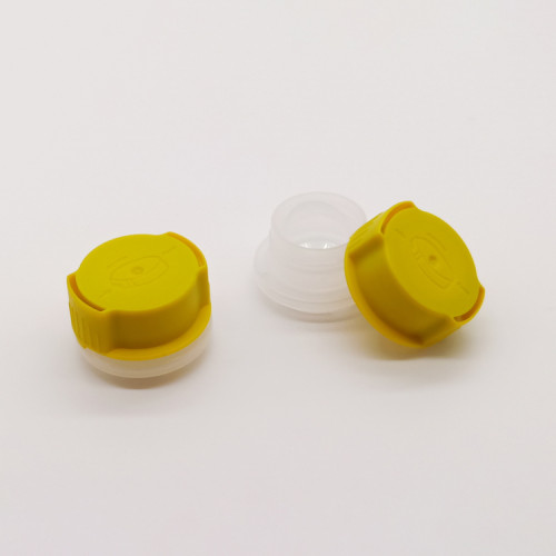32mm gasoline engine oil can screw cap with plastic funnel
