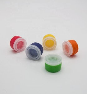 Factory wholesale 32mm plastic pull ring spout cap metal aerosol can round bottle screw caps