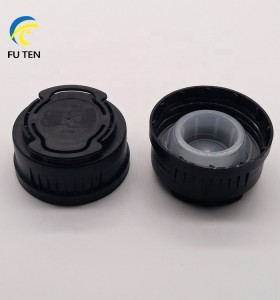 Wholesale plastic engine oil bottle cap jerry can cap Mobil cap