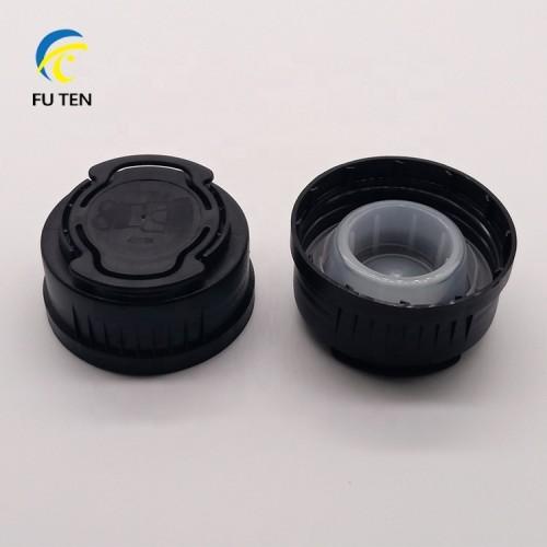 Wholesale plastic engine oil bottle cap jerry can cap Mobil cap