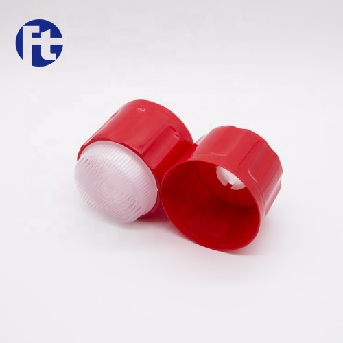 Factory direct PP cap/aerosol can cover with brush 52mm 65mm