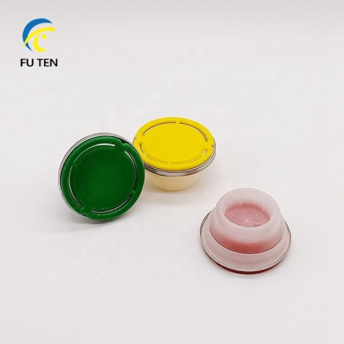 Multi-color first grade plastic material PE spout for engine oil use
