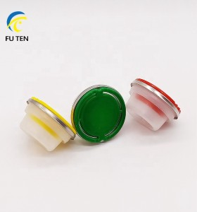 Free sample custom color plastic spout and cap for empty oil can 1L 4L 5L