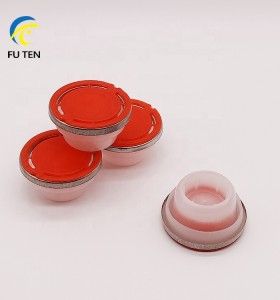 Factory wholesale 42mm Plastic cap flexible spout with metal ring oil can flexspout