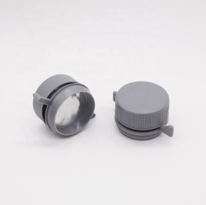China supplier 42mm plastic screw cap for car oil & petrol