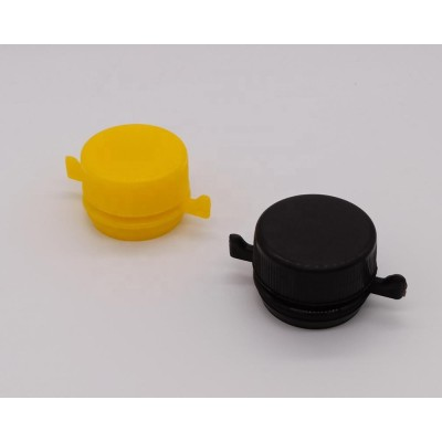 Factory supply diameter 42mm plastic snap on screw cap and closure for engine oil tin