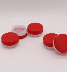 Food quality plastic screw caps for essential oil bottles