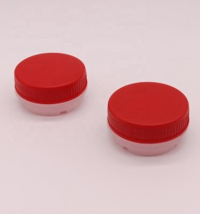 42mm Plastic pull ring screw caps spout for 0.1L to 20L chemical tin can