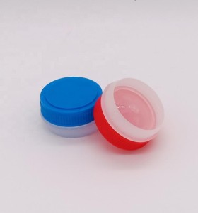 Red screw plastic cap for metal glue can 1L 4L