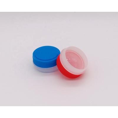 Red screw plastic cap for metal glue can 1L 4L
