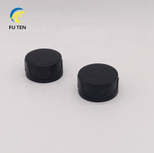 Free sample 32mm 42mm 50mm 57mm plastic screw cap PE red spout cap for 0.1L to 20L chemical tin cans
