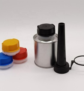 PE plastic caps cover lids stopper with nozzle for machines equipment oil