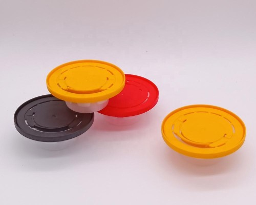 new style 62mm 57mm plastic flexible crimp cover for pail