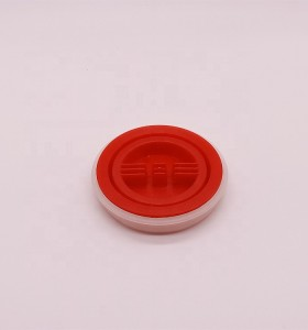 Custom size 69mm plastic PE screw gear oil caps