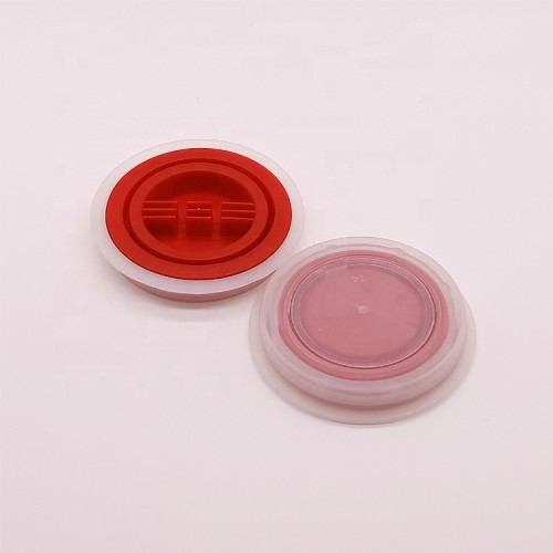 Chinese factory 70mm plastic spout and cap for empty metal can 18L