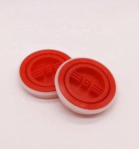 Factory wholesale plastic engine oil caps metal oil barrel pail screw lids