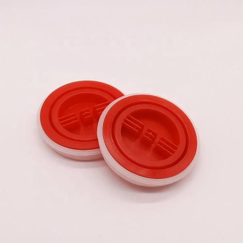 Factory wholesale plastic engine oil caps metal oil barrel pail screw lids