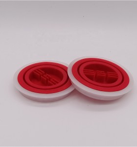 Guangzhou manufacturer plastic spout caps screw top cap for round oil can 18L 20L