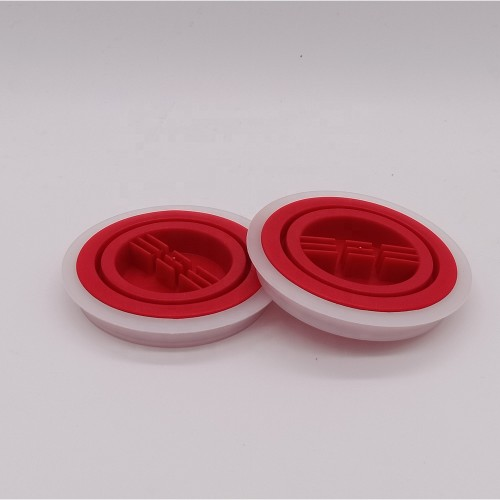 Guangzhou manufacturer plastic spout caps screw top cap for round oil can 18L 20L