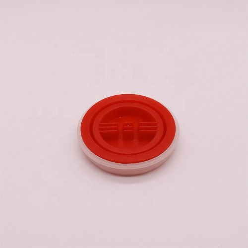 69mm Plastic screw caps metal paint bucket screw top lids for sale