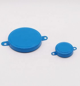 2 inch and 3/4 inch metal cap seal for 200L steel barrel drums