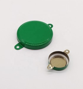 seal cap of steel barrel,metal cap easy opening