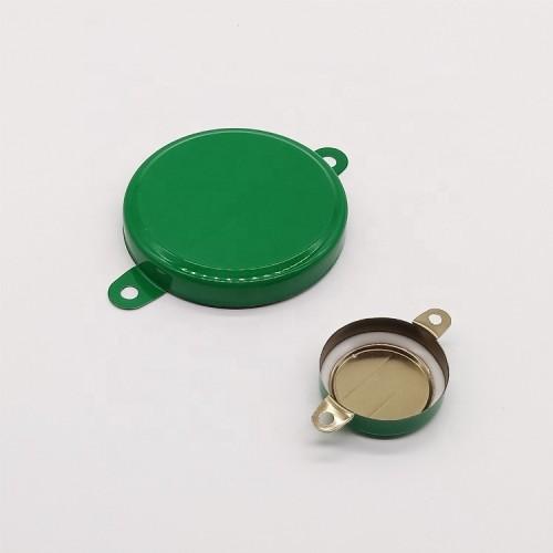 seal cap of steel barrel,metal cap easy opening