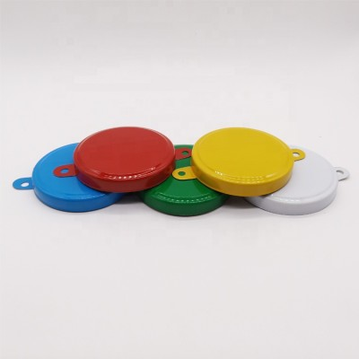 Anti-Theft metal caps seal tab seals for 200L steel drums