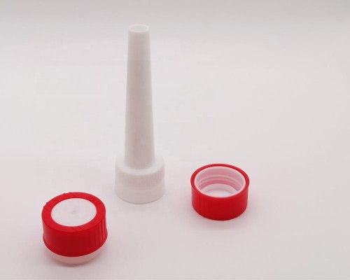 The cheapness & high quality plastic pressure childproof cap for Dia 65mm cleaner cans