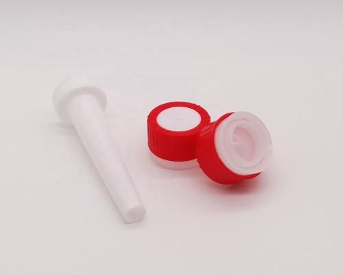 China manufacturer 25.4mm 32mm plastic cap for aerosol tin can child security plastic screw closure