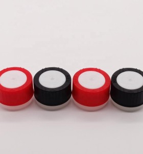 Children safety caps 1 inch aerosol oil bottle cap plastic lids for aerosol can