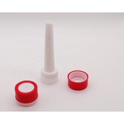 Factory direct Plastic cap with spout for 100ml aerosol spray can