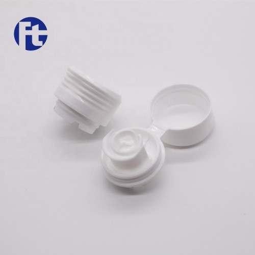 Wholesale 28mm plastic edible oil spout cap/flip top cap for olive oil use