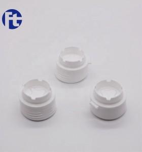Accept customized colorful plastic flip top cap/oil bottle screw closure
