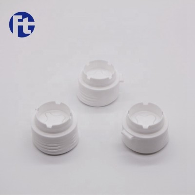 Accept customized colorful plastic flip top cap/oil bottle screw closure