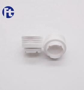 Guangzhou Futen manufacturer food grade olive oil bottle cap plastic flip top cap for metal oil tins