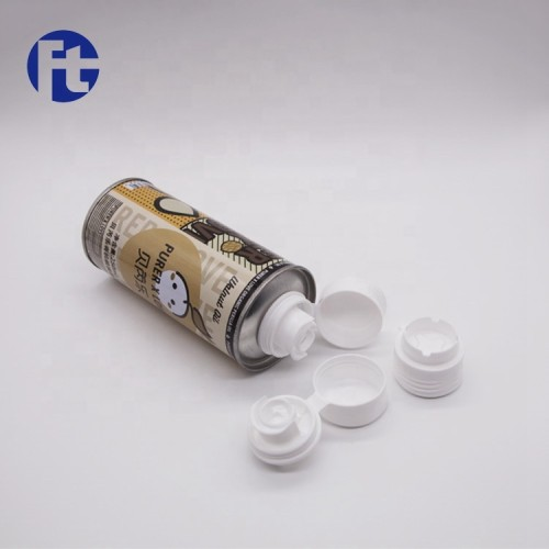 28mm Plastic spout lid closure cap for olive oil walnut oil metal tin 500ml