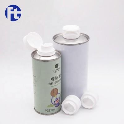 Wholesale edible oil bottle cap/olive oil tin cap