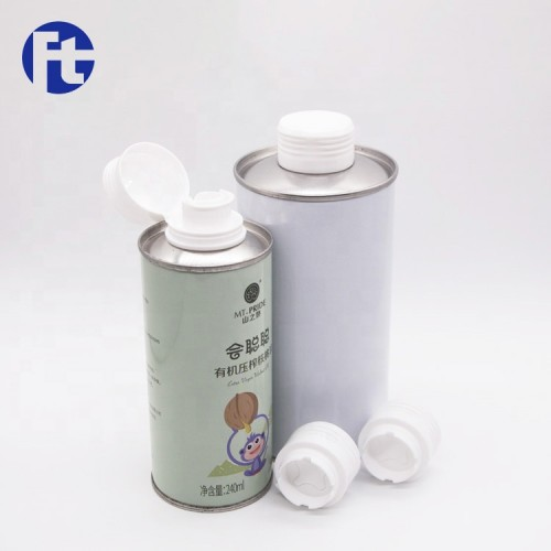 Wholesale edible oil bottle cap/olive oil tin cap
