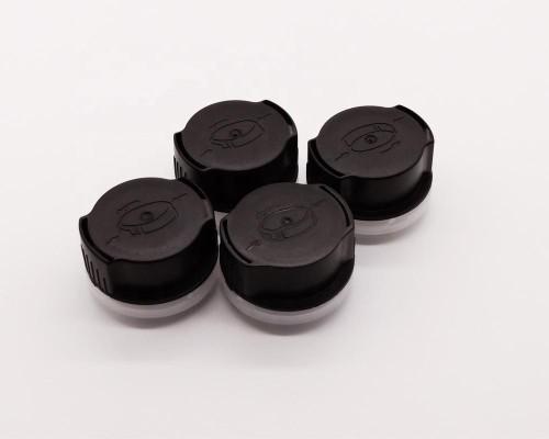 bottle cap be print,aluminum foil bottle screw cap