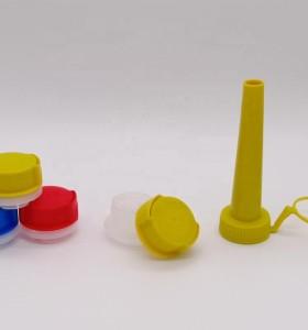 1 inch screw cap Child proof bottle cap for aerosol oil cans