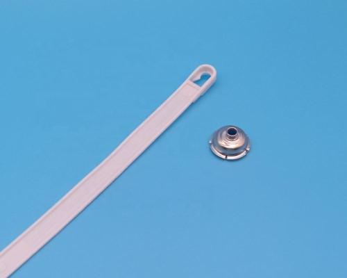 Custom molded plastic handle for 4L paint tin bucket