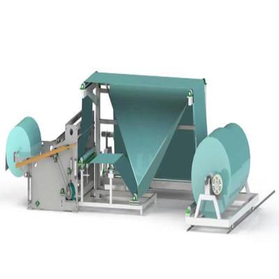 Máquina plegadora de productos terminados