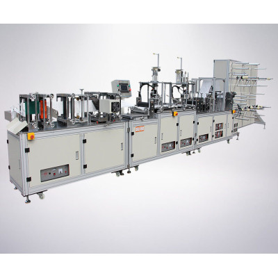 Full Automatic  High quality  Disposable Face Mask Making Machine