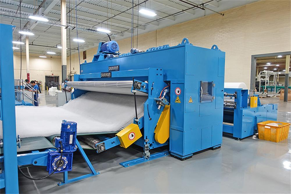the daily maintenance method of the spun-bond non-woven production line
