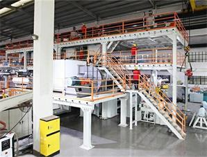 What is the Operating Process of the Meltblown Nonwoven Machine?