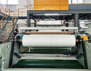 Working principle of spunbond nonwoven machine