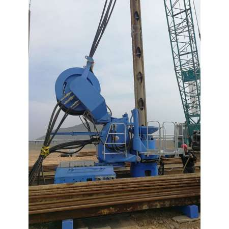 High efficiency engineering equipment static pressure pile planter